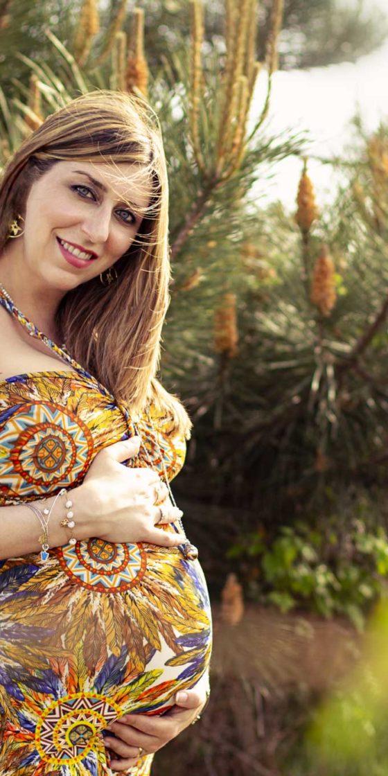 Elisa, Servizio fotografico in gravidanza a Firenze
