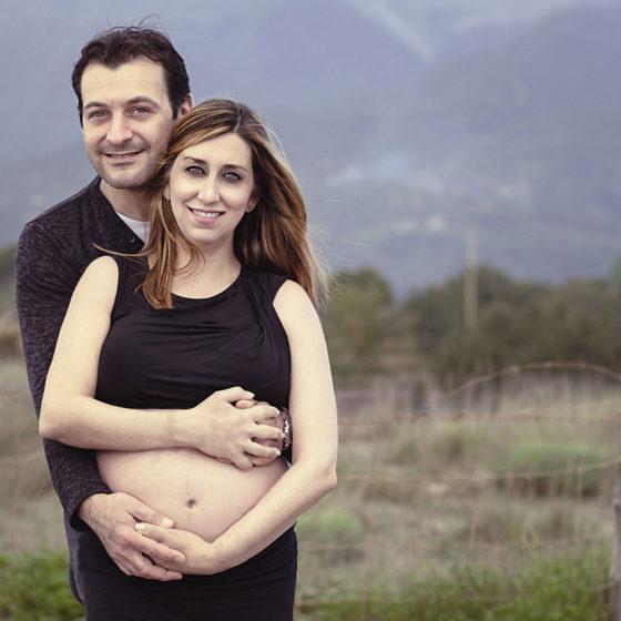 Elisa, Servizio fotografico in gravidanza, Firenze